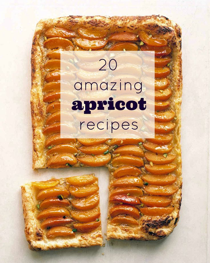 As soon as summer rolls around, you'll want to make each and every one of these apricot recipes, from crumbles and tarts to cobblers and pies.