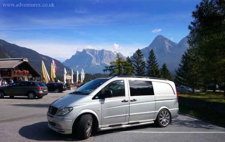 Our mercedes vito in austria what we do pinterest for Mercedes benz austria