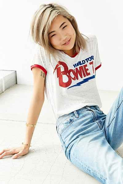 TRUNK LTD David Bowie Banded Tee