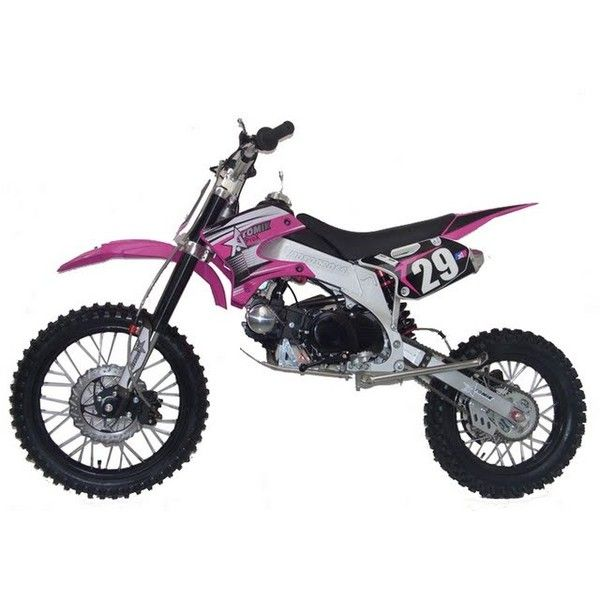 Cheap Pit Bikes, Dirt Bikes, Quad Bikes For Sale + Mini Bike, Dirt... ❤ liked on Polyvore featuring cars, motocross, vehicles, bikes and sports