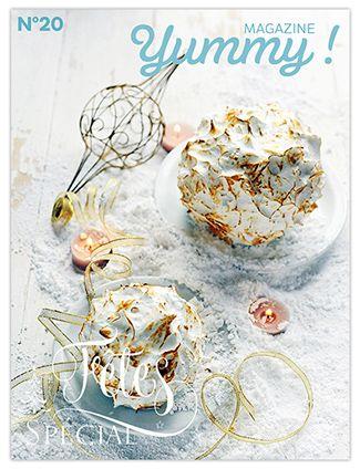 100 pages !! De recettes, de conseils, d'idées gourmandes pour faire de cette fin d'année un moment de plaisir, de partage et de gourmandise, si possible sans trop de stress…