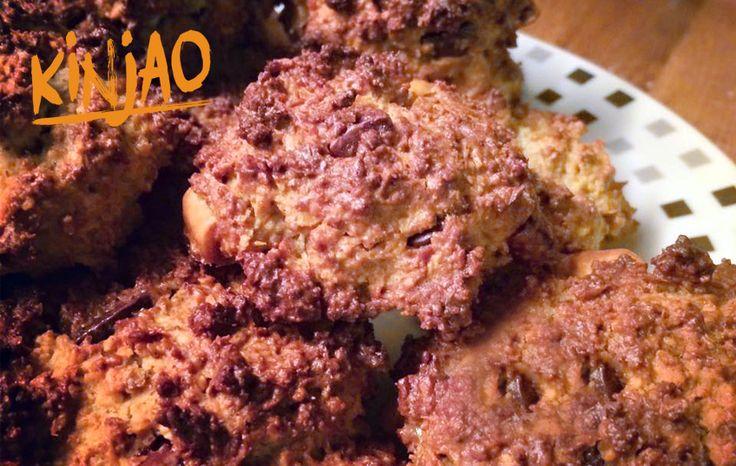 Rochers coco à la farine de grillons