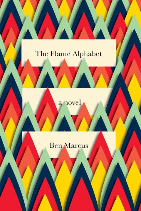 The Flame Alphabet (Book Cover). I love this cut paper technique!