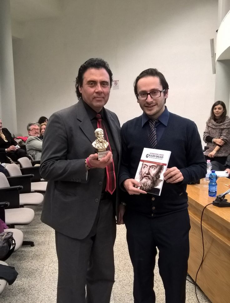 """Al vercellese Massimo Paracchini, il Premio Internazionale """"Galileo Galilei""""-Quotidiano online gratuito della Valsesia"""