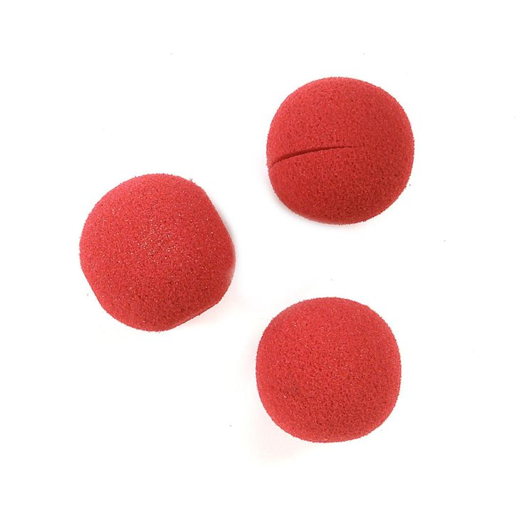 Sponge Clown Noses from BirthdayExpress.com