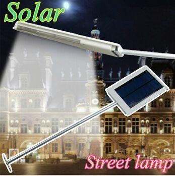 12 led solar-sensor beleuchtung solar lampe eingeschaltet panel led-straßenlaterne outdoor-pfad wand notlampe Sicherheit spotlicht