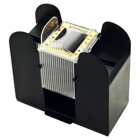 Found it at Wayfair - 6 Deck Automatic Card Shuffler