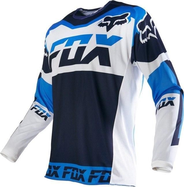 Download Blue Fox Motocross Racing Jersey Camisetas Deportivas Motocros Camisetas