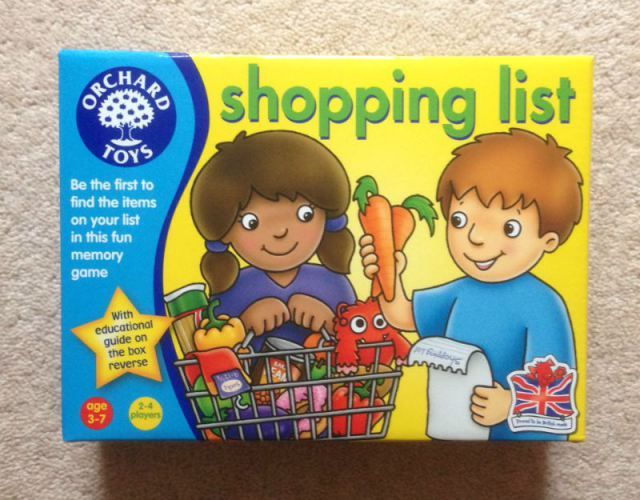 Shopping List has been updated - review and giveaway - Over 40 and a Mum to OneOver 40 and a Mum to One