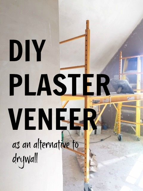 DIY plaster walls and home progress | Diy plaster, Plaster ...