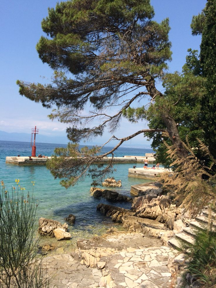 Malinska, Krk Island, Croatia. Photo by Melissa Paul #croatia #adriatic