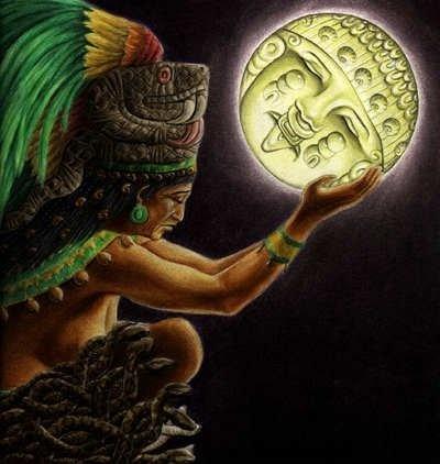 Ixchel, the moon goddess