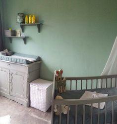 Oud groene babykamer-kinderkamer - Lovely Flavours