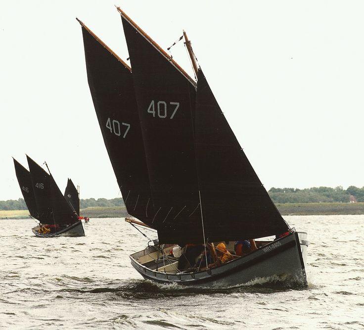 | B2 sloepen Amstelmeer | Dutch Navy training longboats.