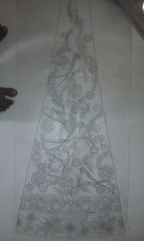 Lahenga and gown design