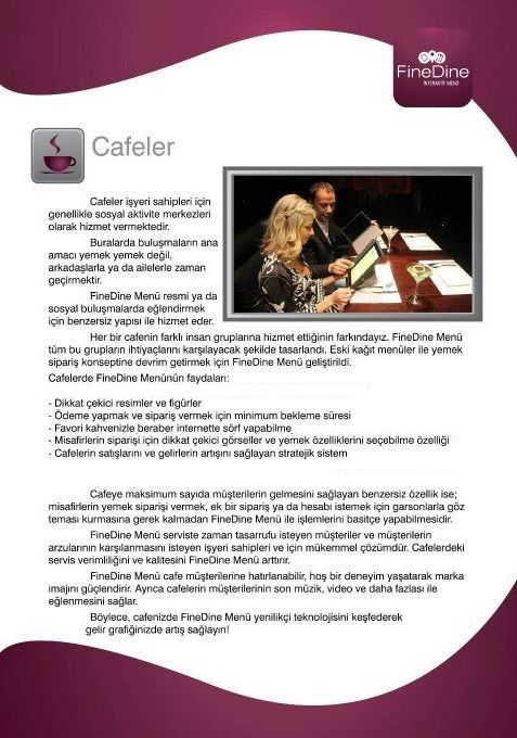 iPad cafe menu  http://www.finedinemenu.com/