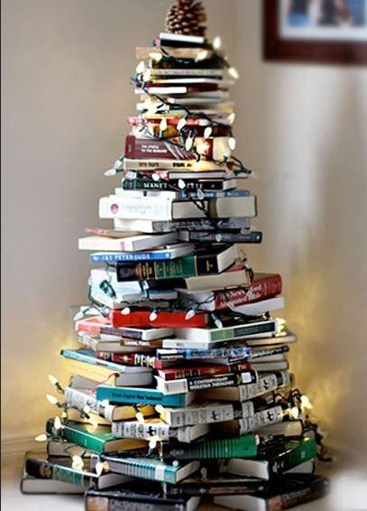 albero con libri