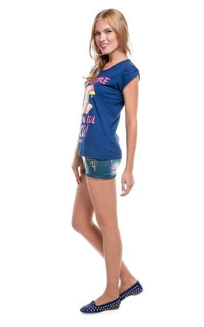 Женские джинсовые шорты New Joenia с шипами на карманах! 630 грн.