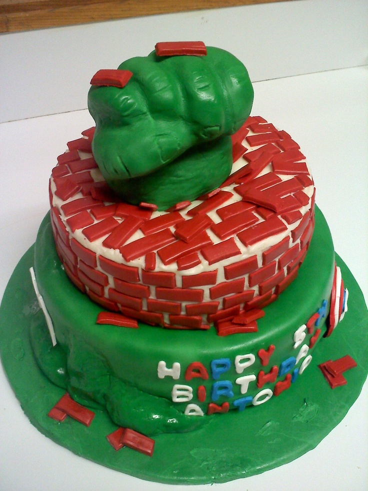 Incredible Hulk Fist Cake Pan