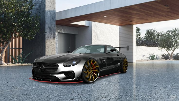 Checkout my tuning #Mercedes #-AMGGT 2016 at 3DTuning #3dtuning #tuning