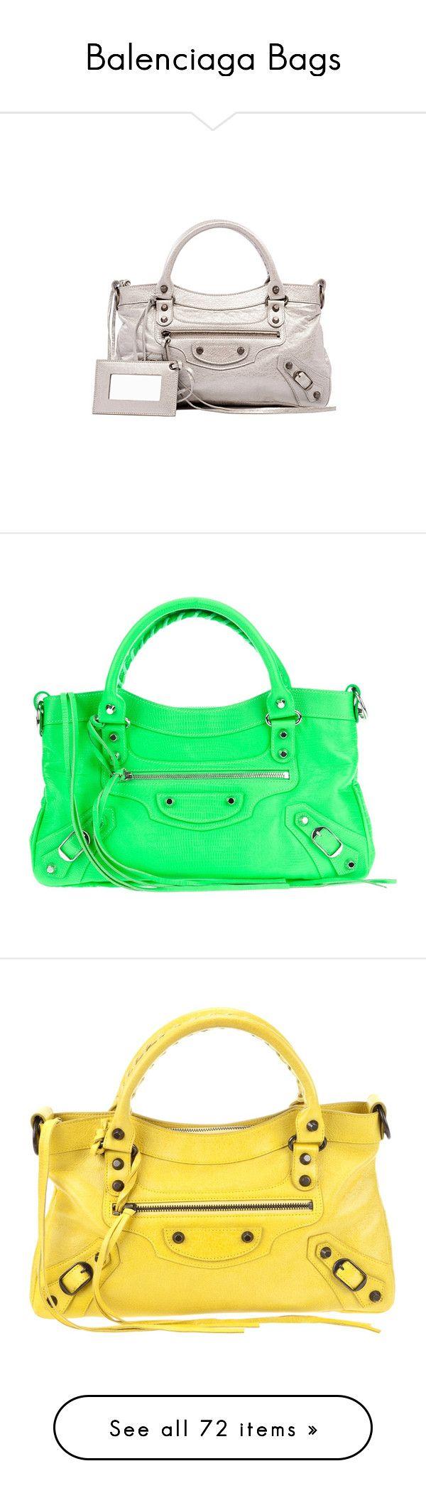 """Balenciaga Bags"" by lucascanutto ❤ liked on Polyvore featuring bags, handbags, balenciaga, totes, balenciaga handbags, balenciaga purse, balenciaga bag, shoulder bags, women and green purse"