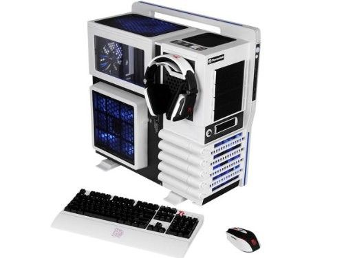 TORRE THERMALTAKE LEVEL 10GT FULL TOWER EXTERIOR, Teclado, Mouse, Diadema #specialtech