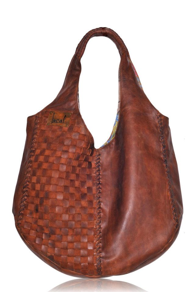 BELLA. Brown leather hobo bag / leather tote bag / by BaliELF, $210.00
