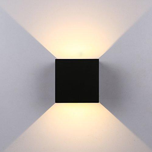 Oferta: 33.99€ Dto: -38%. Comprar Ofertas de Topmo 12w lámpara de pared LED impermeable IP65 moderno al aire libre apliques 840LM 2700K blanco cálido aluminio apliques ll barato. ¡Mira las ofertas!