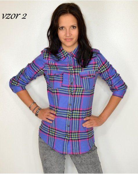 Krásná flanelová košile > varianta Vzor 2 > XL