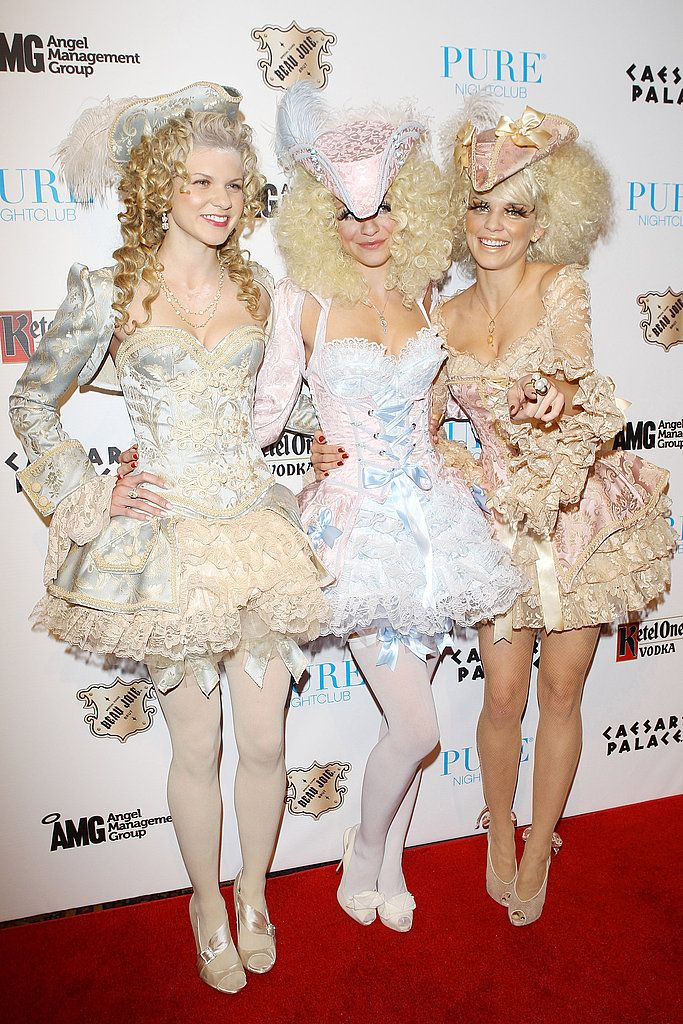 Angel, Rachel, and AnnaLynne McCord stuck together at Pure Nightclub's party in Las Vegas in 2011.                  Source: Film Magic