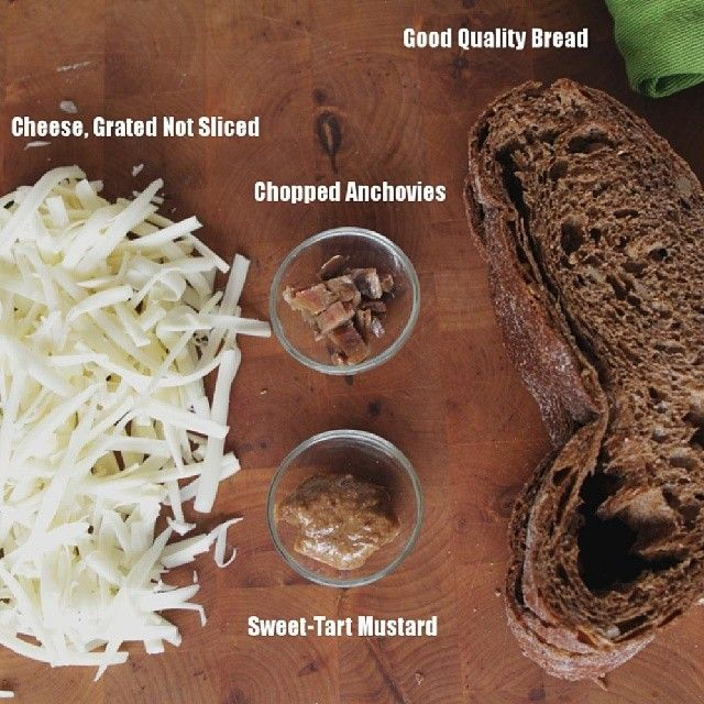 """""""Axiomatic components of a great grilled cheese sandwich. #CDNcheese #SimplePleasures"""" - David Ort"""