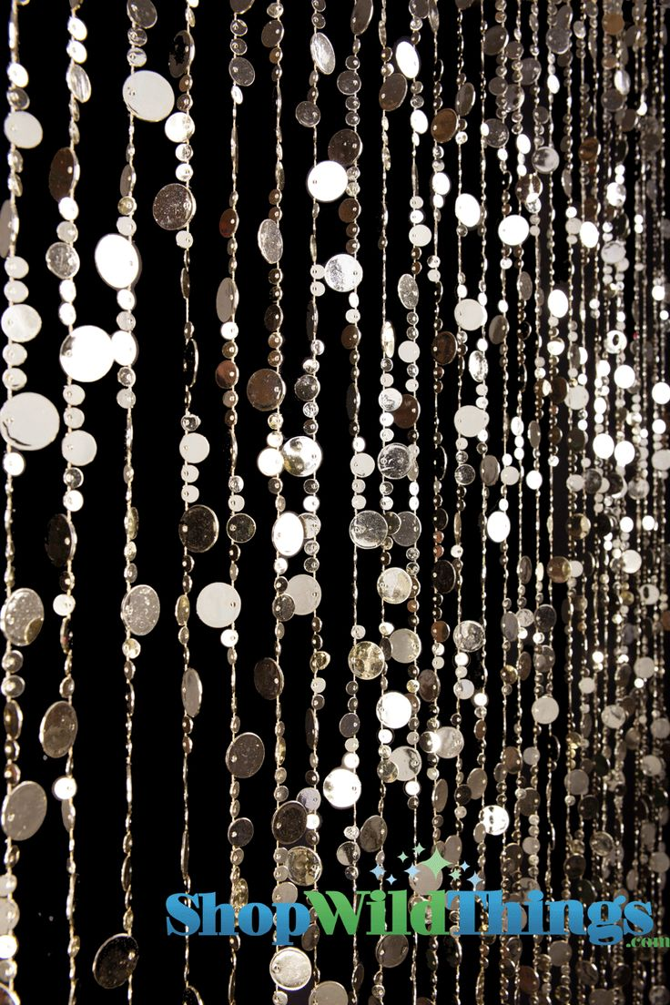 Ha hanging bead curtains for doorways - These Acrylic Bubble Beads Are So Beautiful Use Them In Doorways Or In