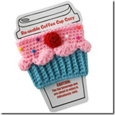 Cupcake Coffee Cozy <3