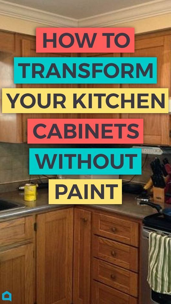 Transform Your Kitchen Cabinets Without Paint 11 Ideas Diy Home