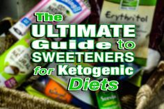 Best Sugar Substitute for Baking in Ketogenic Diets