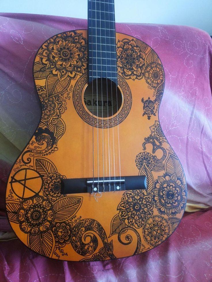 My draw on guitar.