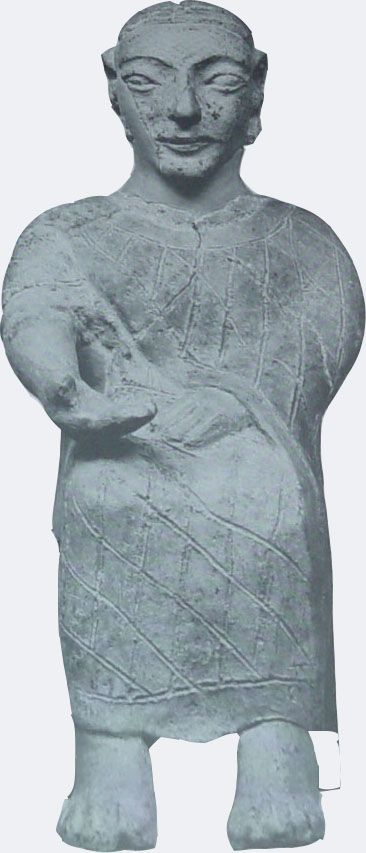 It was a bizarre coincidence how everything just fell into place. It all began with an Etruscan statue at the British Museum... The Etruscan, p. 59