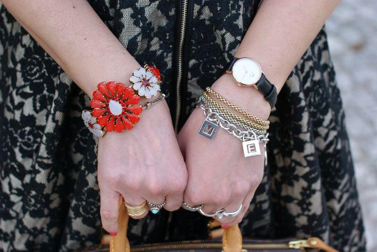 Sodini bijoux, Daniel Wellington watch, Fope bracelets, Tiffany charms, Fashion and Cookies, fashion blogger