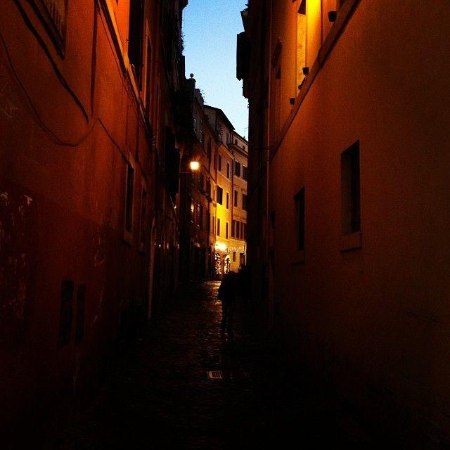 Stanislav Lvovsky. Rome by night