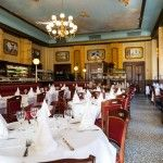 Brasserie de La Bourse - Strasbourg ,France.Built 1900.Ресторан de La Bourse - Страсбург, Франция. Построен в 1900 году. 餐厅de La Bourse - 斯特拉斯堡,法国。 建于1900年。