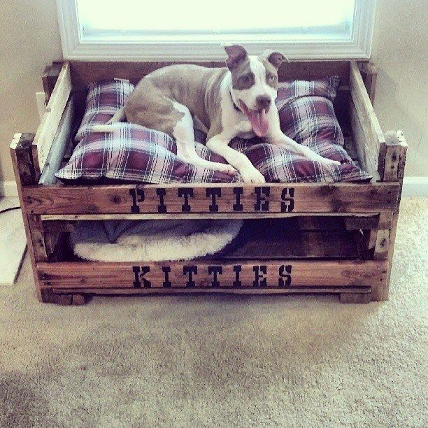 17 best images about pallet projects on pinterest wooden for Pallet dog crate