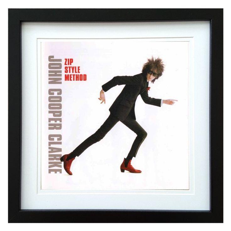 John Cooper-Clarke | Zip Style Method Album | ArtRockStore