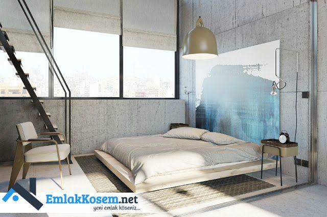 Birbirinden şahane yer yatakları tasarımları ve yatak odaları