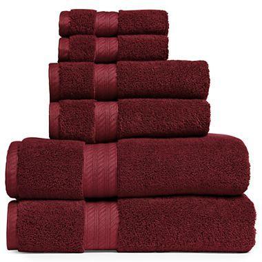 Royal Velvet 174 Egyptian Cotton Solid Bath Towels Jcpenney