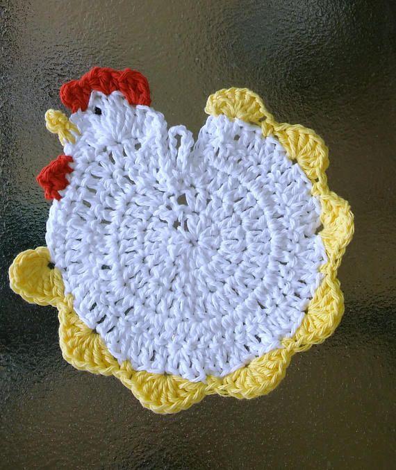 Easter Pot Holders Crochet: Best 25+ Crochet Chicken Ideas On Pinterest