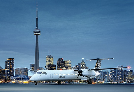 Porter Airlines is a regional airline based out of Billy Bishop Toronto City Airport (YTZ), operating flights between Toronto and select locations in USA and Canada.
