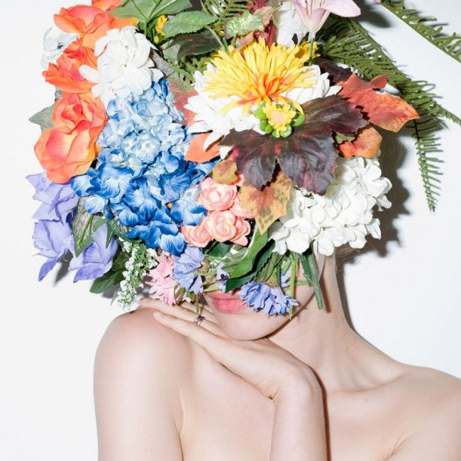 "BEN SULLIVAN, MECCA COSMETICA: concept and art direction by jonathan zawada for westfield's ""fashion loves art"" exhibition.: Mecca Cosmetica, Flower Crowns, Floral Headdress, Ben Sullivans, Flower Head, Art Exhibitions, Flower Children, Jonathan Zawada, Flowerhead"