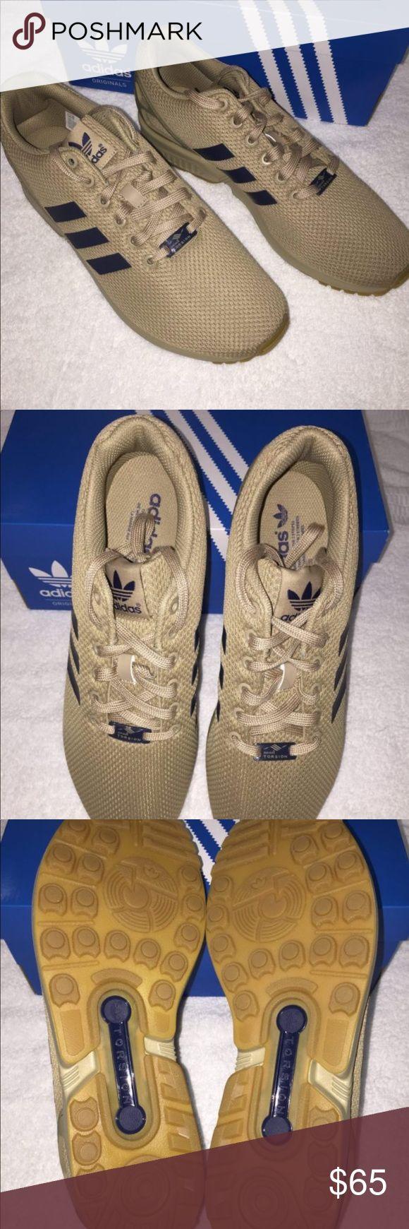Men's Adidas ZX Flux Hemp Gum Original running shoes adidas Shoes Athletic Shoes