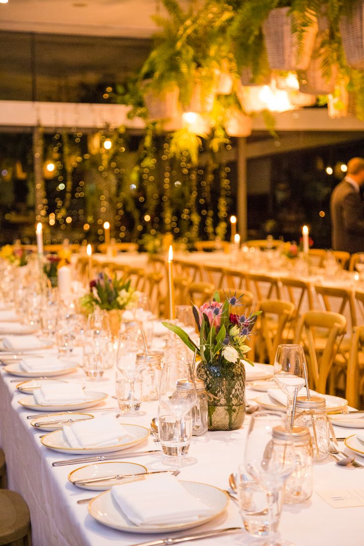Wedding in the Kitchen // King table lay-out