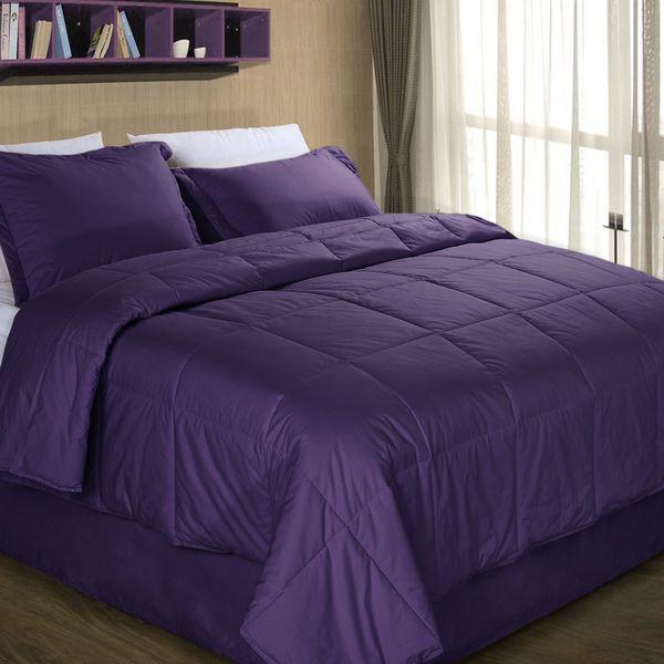 Cottonloft Colors All Natural Down Alternative Cotton Filled Comforter